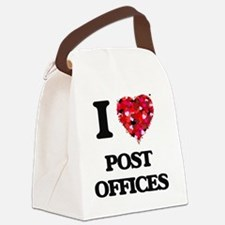 I love Post Offices Canvas Lunch Bag