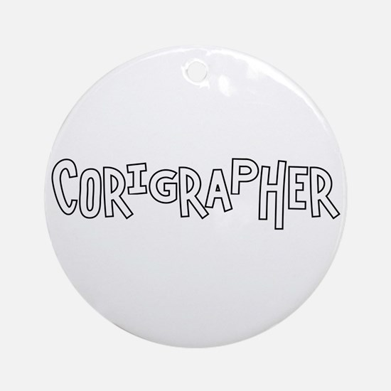 Choreographer Ornament (Round)