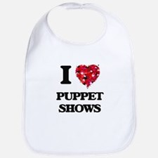 I love Puppet Shows Bib