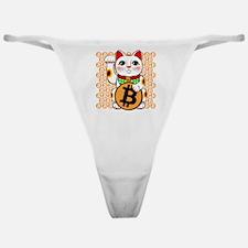 Bitcoin Lucky Cat RP Classic Thong