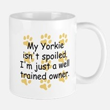 Well Trained Yorkie Owner Mugs