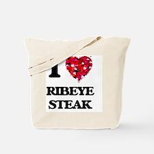 I love Ribeye Steak Tote Bag