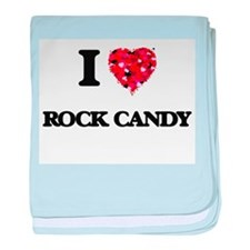 I love Rock Candy baby blanket