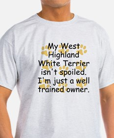 Well Trained West Highland White Terrier Owner T-S