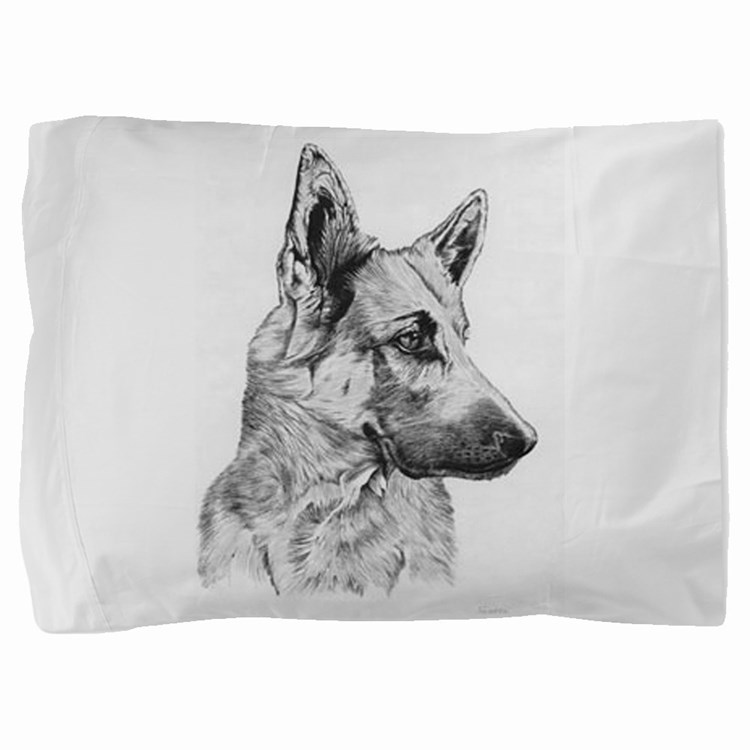 German Shepherd Pillow Sham