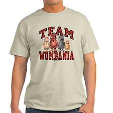Team Wombania T-Shirt Light Colored