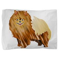 Pomeranian Pillow Sham