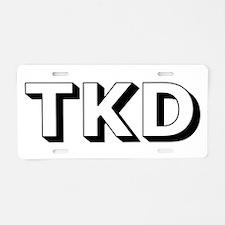 TKD Aluminum License Plate