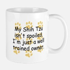 Well Trained Shih Tzu Owner Mugs