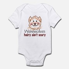 hairy ain't scary Infant Bodysuit