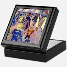 Edvard Munch - 17th of May, Norwegian Keepsake Box