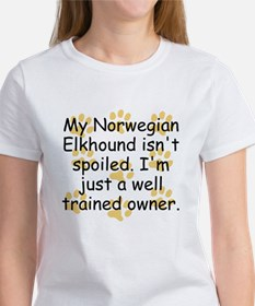 Well Trained Norwegian Elkhound Owner T-Shirt