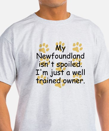Well Trained Newfoundland Owner T-Shirt
