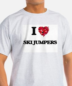 I love Ski Jumpers T-Shirt