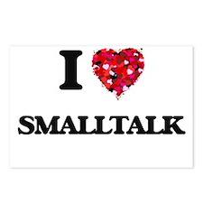 I love Smalltalk Postcards (Package of 8)