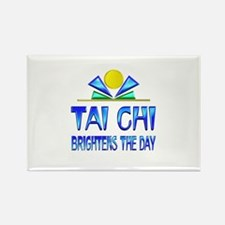 Tai Chi Brightens the D Rectangle Magnet (10 pack)