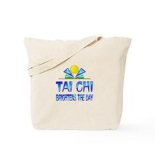 Tai Chi Brightens the Day Tote Bag