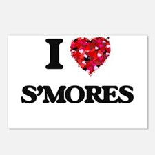 I love S'Mores Postcards (Package of 8)