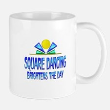 Square Dancing Brightens the Day Mug