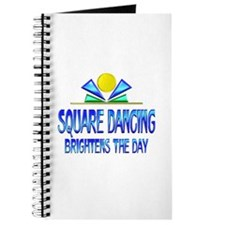 Square Dancing Brightens the Day Journal