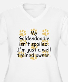 Well Trained Goldendoodle Owner Plus Size T-Shirt
