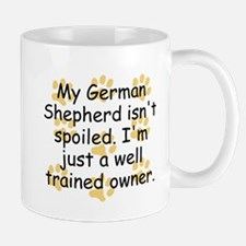 Well Trained German Shepherd Owner Mugs