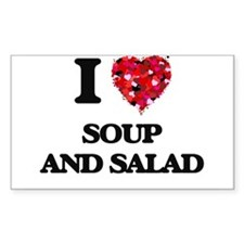 I love Soup And Salad Decal