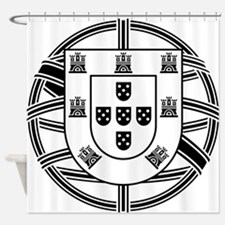 Portugal Brasão Shower Curtain