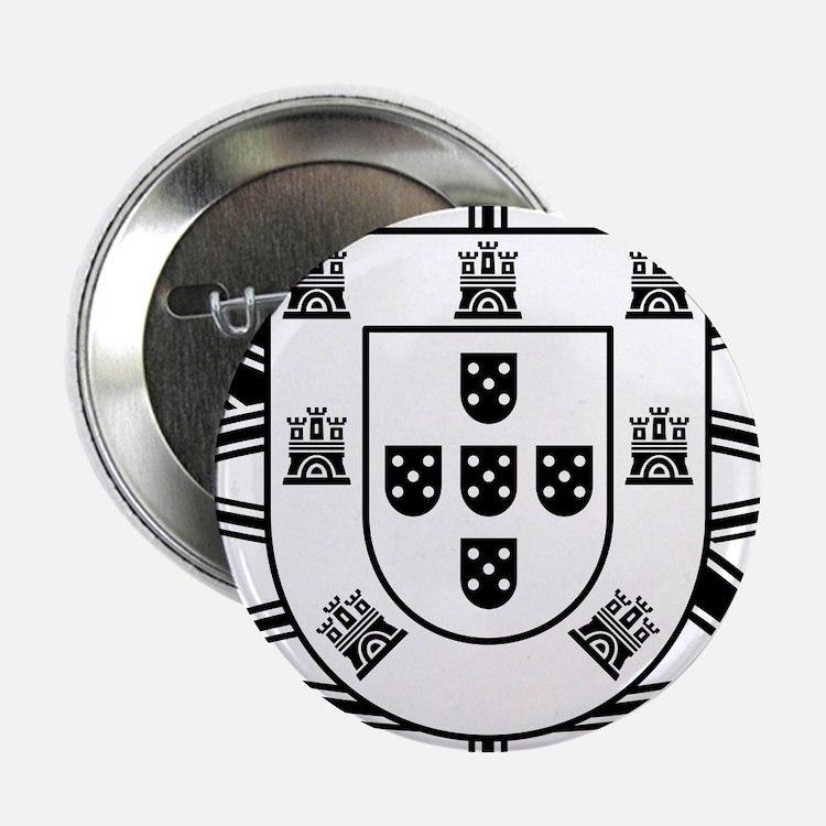 """Portugal Brasão 2.25"""" Button (10 pack)"""