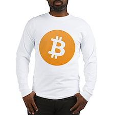 Bitcoin Standard Logo Long Sleeve T-Shirt