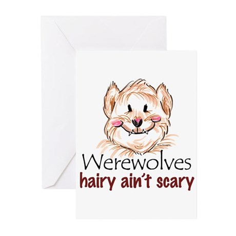 hairy ain't scary Greeting Cards (Pk of 10)