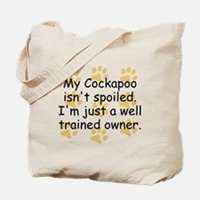 Well Trained Cockapoo Owner Tote Bag