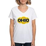 Ohio Radiant Women's V-Neck T-Shirt