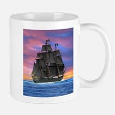 Black Sails of the Caribbean Mugs