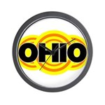 Ohio Radiant Wall Clock