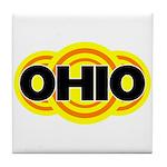 Ohio Radiant Tile Coaster