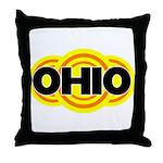 Ohio Radiant Throw Pillow