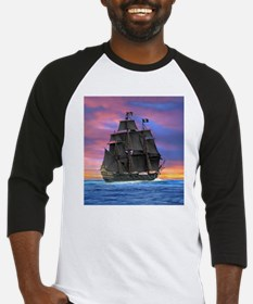 Black Sails of the Caribbean Baseball Jersey