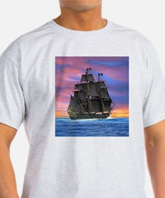 Black Sails of the Caribbean T-Shirt