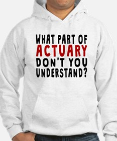 What Part Of Actuary Hoodie