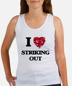 I love Striking Out Tank Top