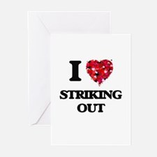 I love Striking Out Greeting Cards