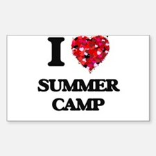 I love Summer Camp Decal