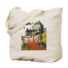 Frontenac Castle with Signatu Tote Bag