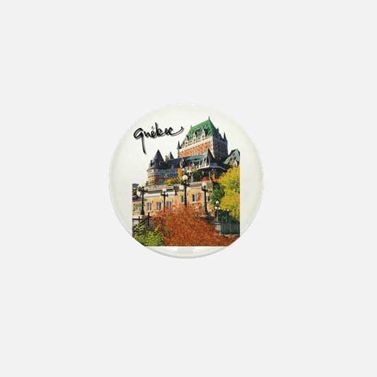 Frontenac Castle with Signatu Mini Button