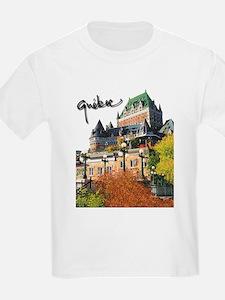 Frontenac Castle with Signatu T-Shirt