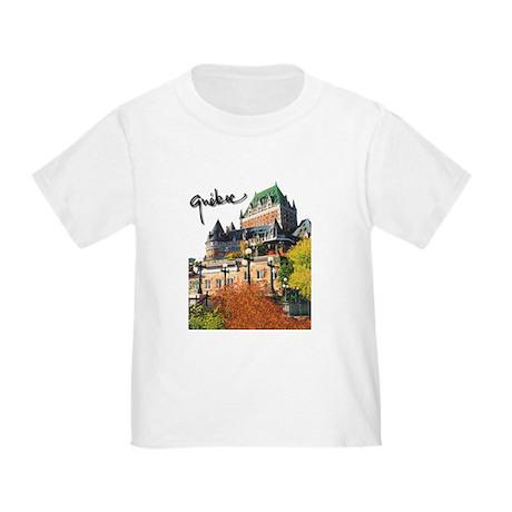 Frontenac Castle with Signatu Toddler T-Shi