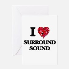 I love Surround Sound Greeting Cards