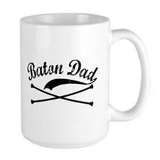 Baton Dad Mug