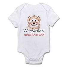 werewolves need love Infant Bodysuit